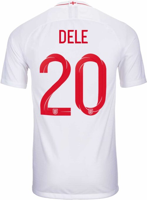 Nike Dele Alli England Home Jersey 2018-19
