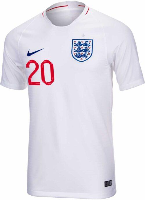 2018/19 Nike Dele Alli England Home Jersey