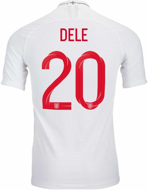 678cad3a0 2018/19 Nike Dele Alli England Home Match Jersey