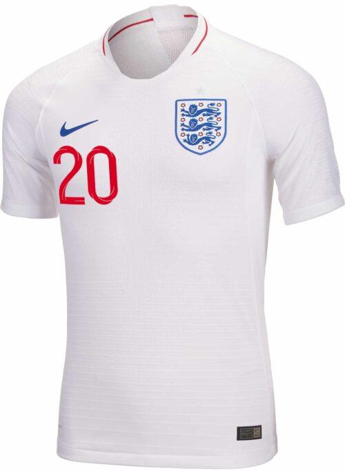2018/19 Nike Dele Alli England Home Match Jersey