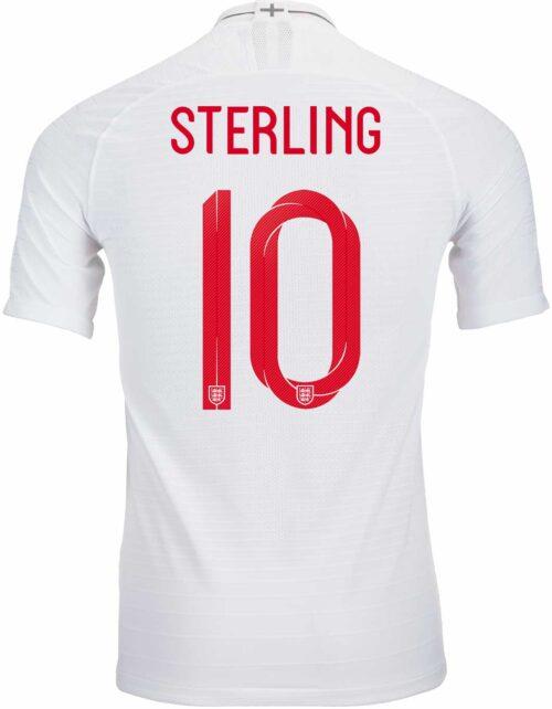 Raheem Sterling Jersey - England   Manchester City - SoccerPro 67b2342052