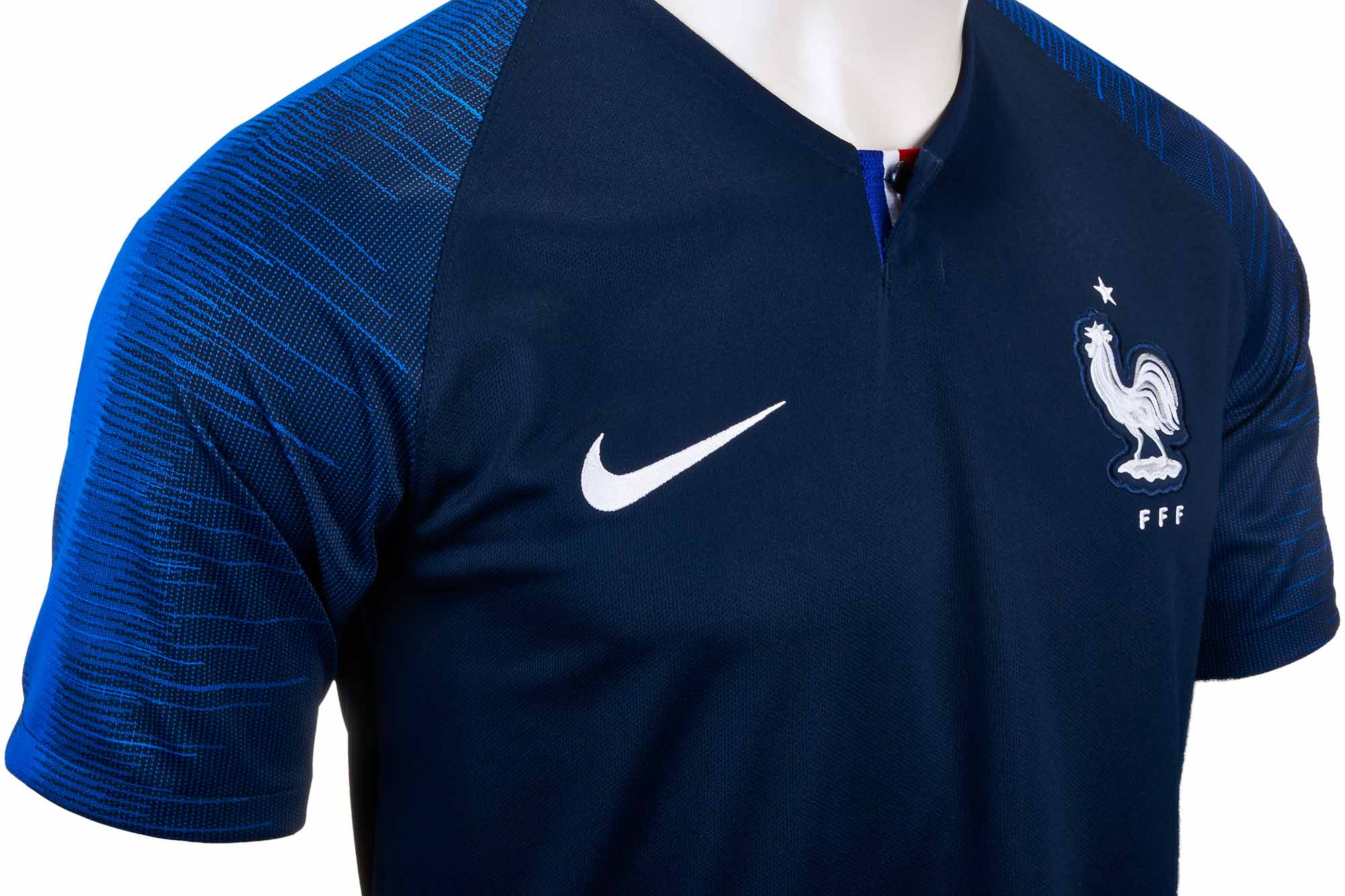 Nike France Home Jersey 2018-19 - SoccerPro.com