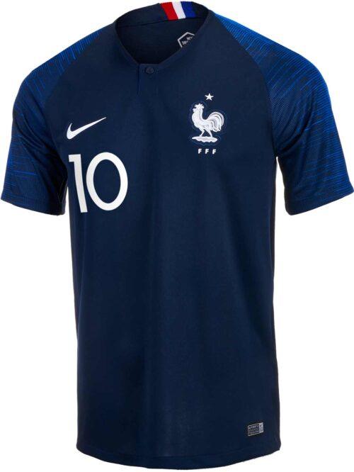 2018/19 Nike Kylian Mbappe France Home Jersey