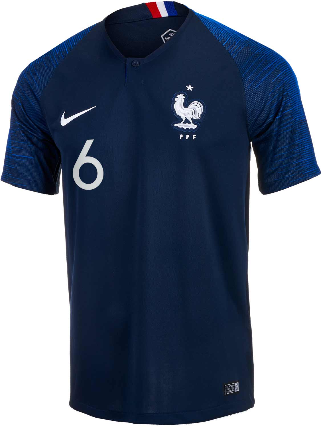 pretty nice 1b93e fff72 2018/19 Nike Paul Pogba France Home Jersey - SoccerPro