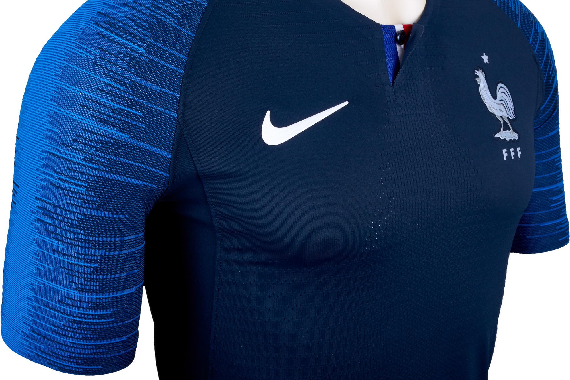 2018/19 Nike France Home Match Jersey - SoccerPro