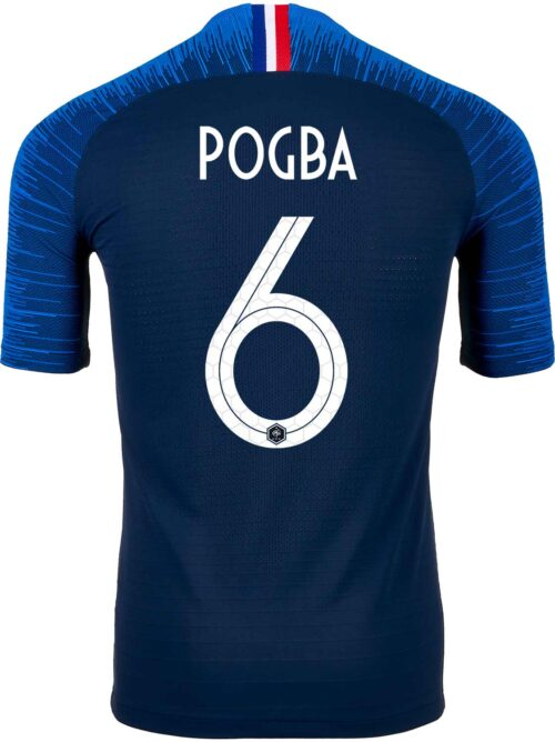Nike Paul Pogba France Home Match Jersey 2018-19