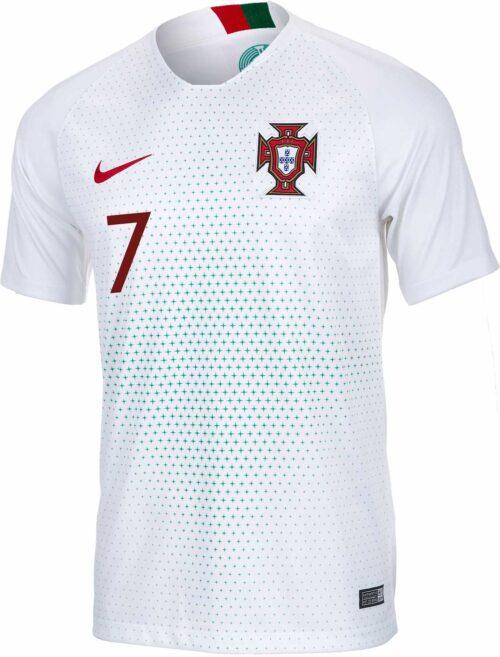 2018/19 Nike Cristiano Ronaldo Portugal Away Jersey