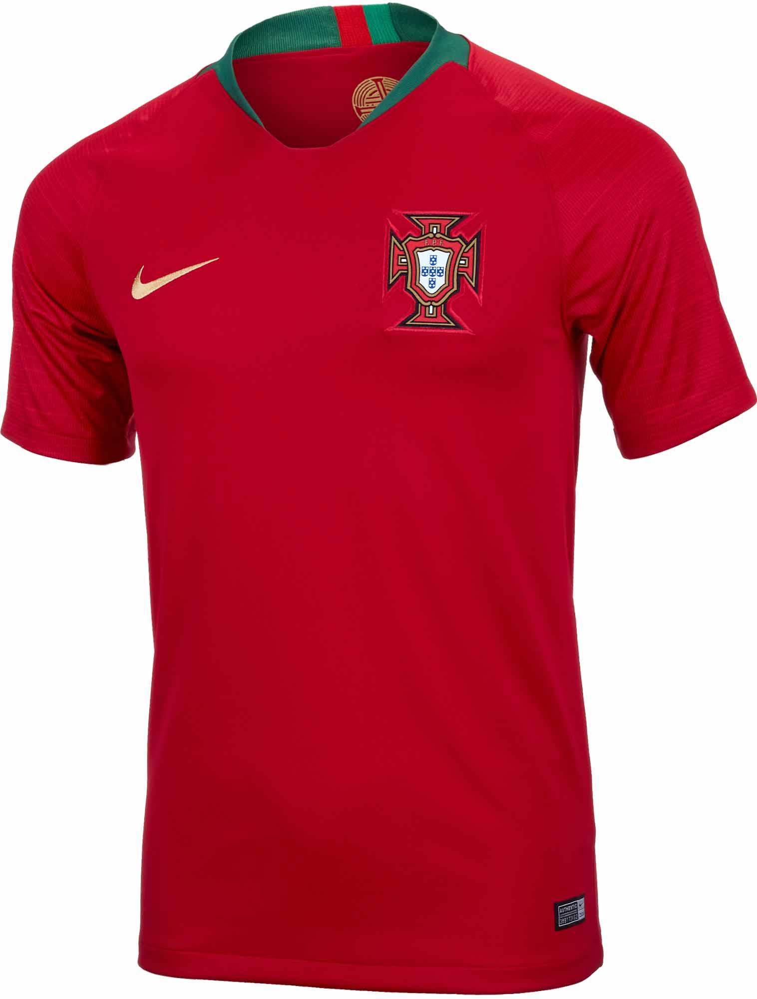34a9037dd Nike Portugal Home Jersey 2018-19- SoccerPro.com