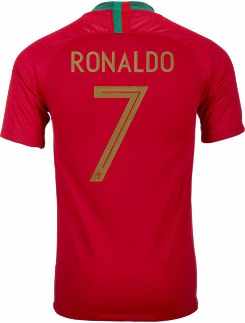 2018/19 Nike Cristiano Ronaldo Portugal Home Jersey