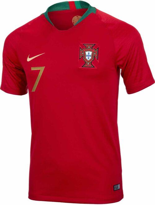 Nike Cristiano Ronaldo Portugal Home Jersey 2018-19