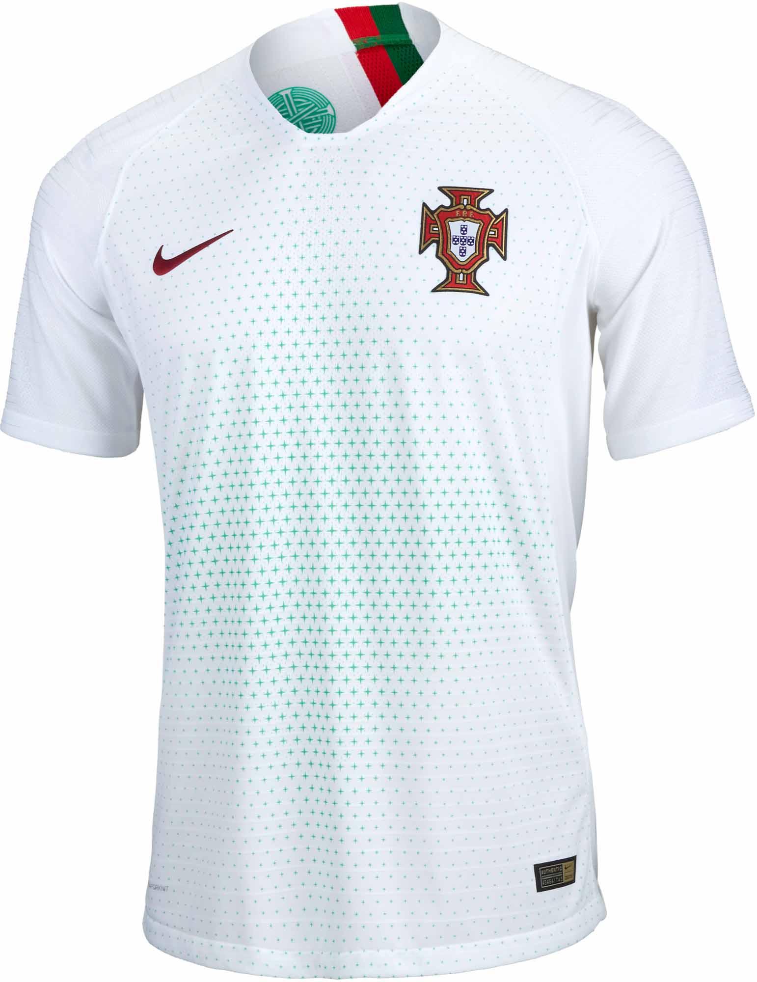 4d23f58d1 Nike Portugal Away Match Jersey 2018-19 - SoccerPro