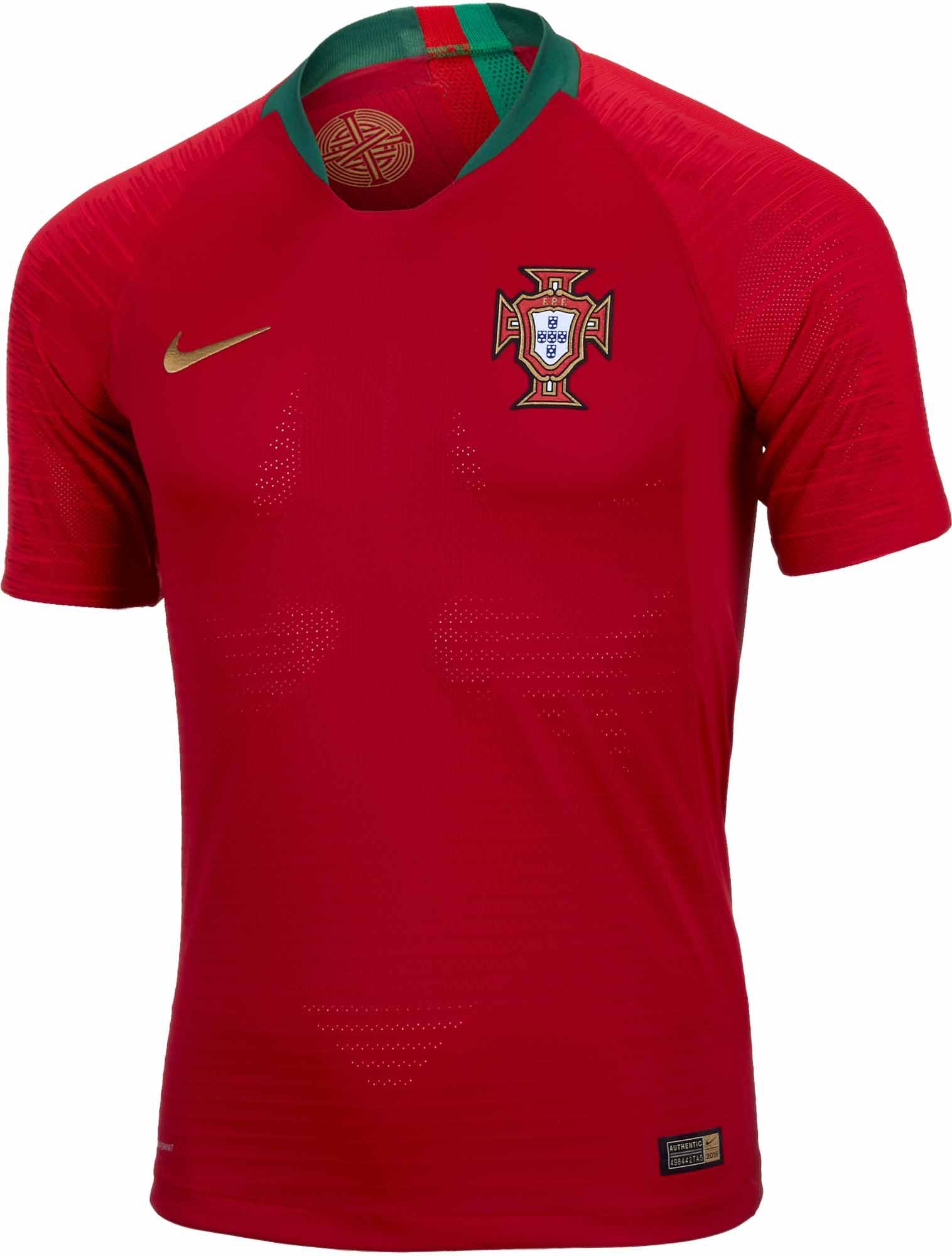 Nike Portugal Home Match Jersey 2018-19 - SoccerPro.com