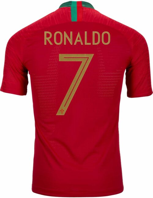 2018/19 Nike Cristiano Ronaldo Portugal Home Match Jersey