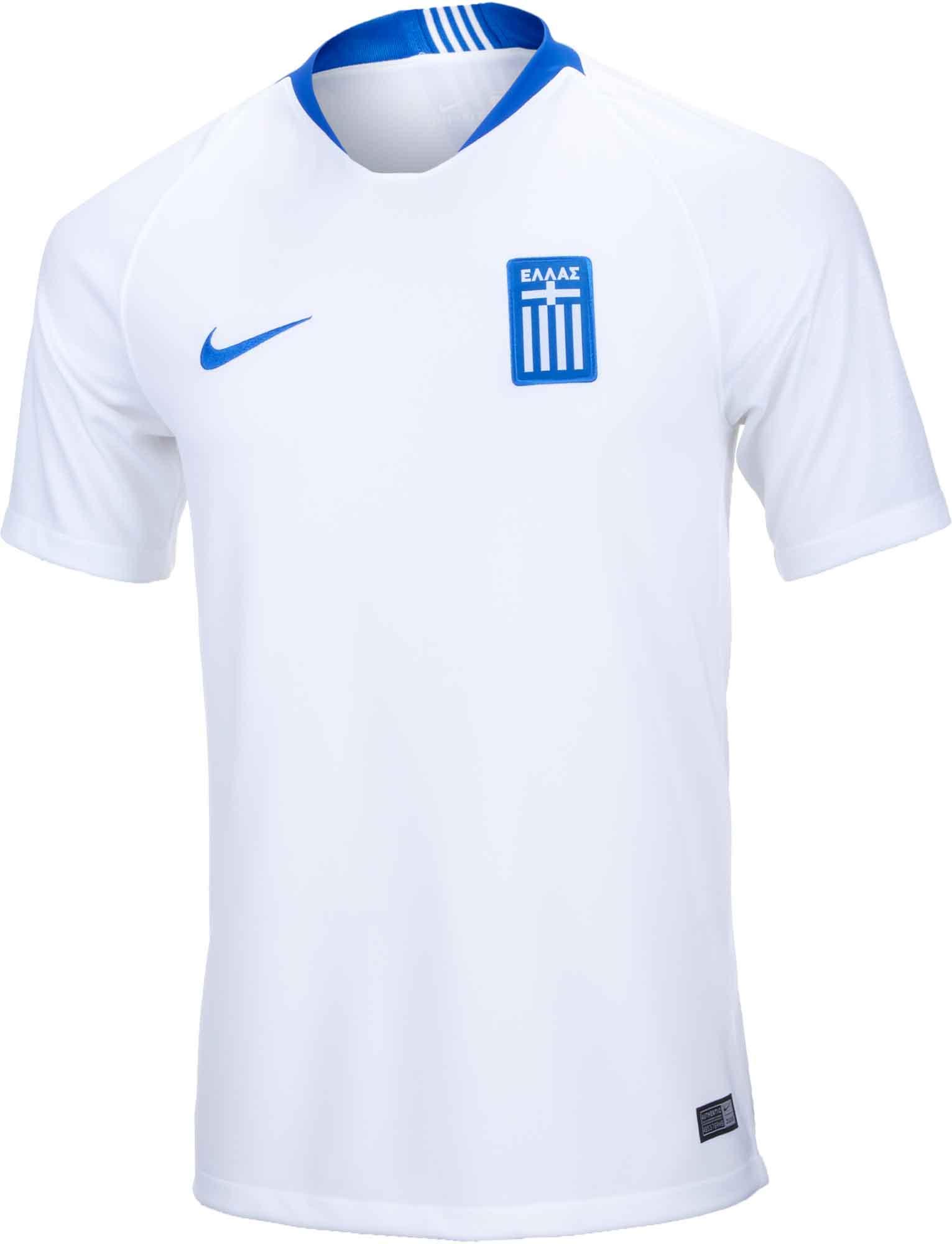 4d2d622b6 Nike Greece Home Jersey 2018-19 - SoccerPro