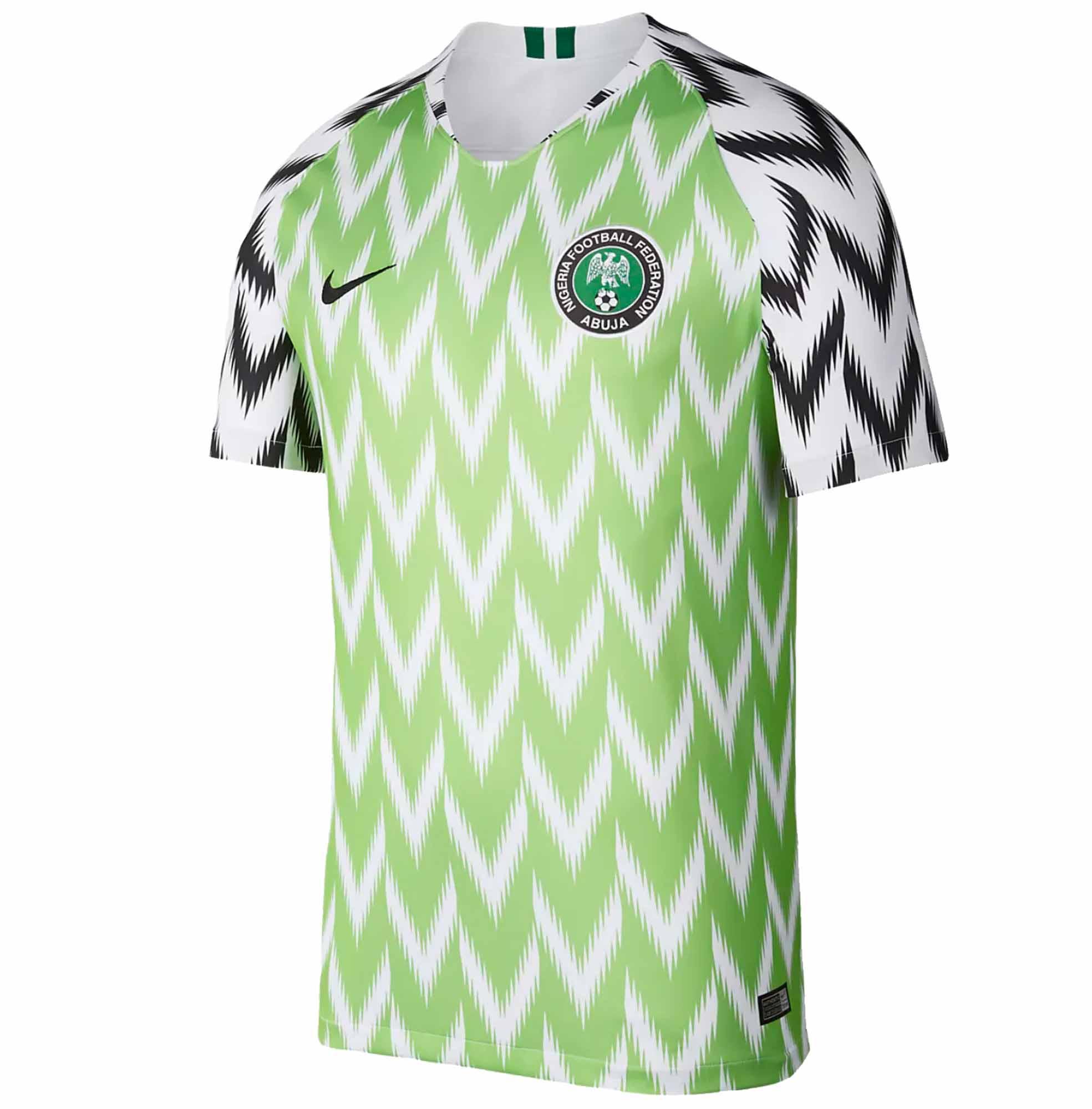 2018 19 Nike Nigeria Home Jersey - SoccerPro 72085fa4b