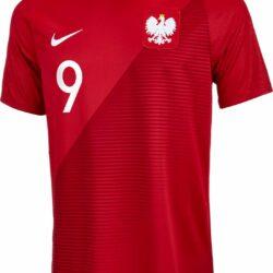 c567eacbe1ca 2018 19 Nike Robert Lewandowski Poland Away Jersey - SoccerPro