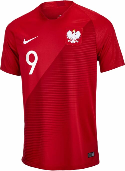 Nike Robert Lewandowski Poland Away Jersey
