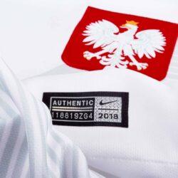 ad8cee6174f Nike Poland Home Jersey 2018-19 - SoccerPro.com
