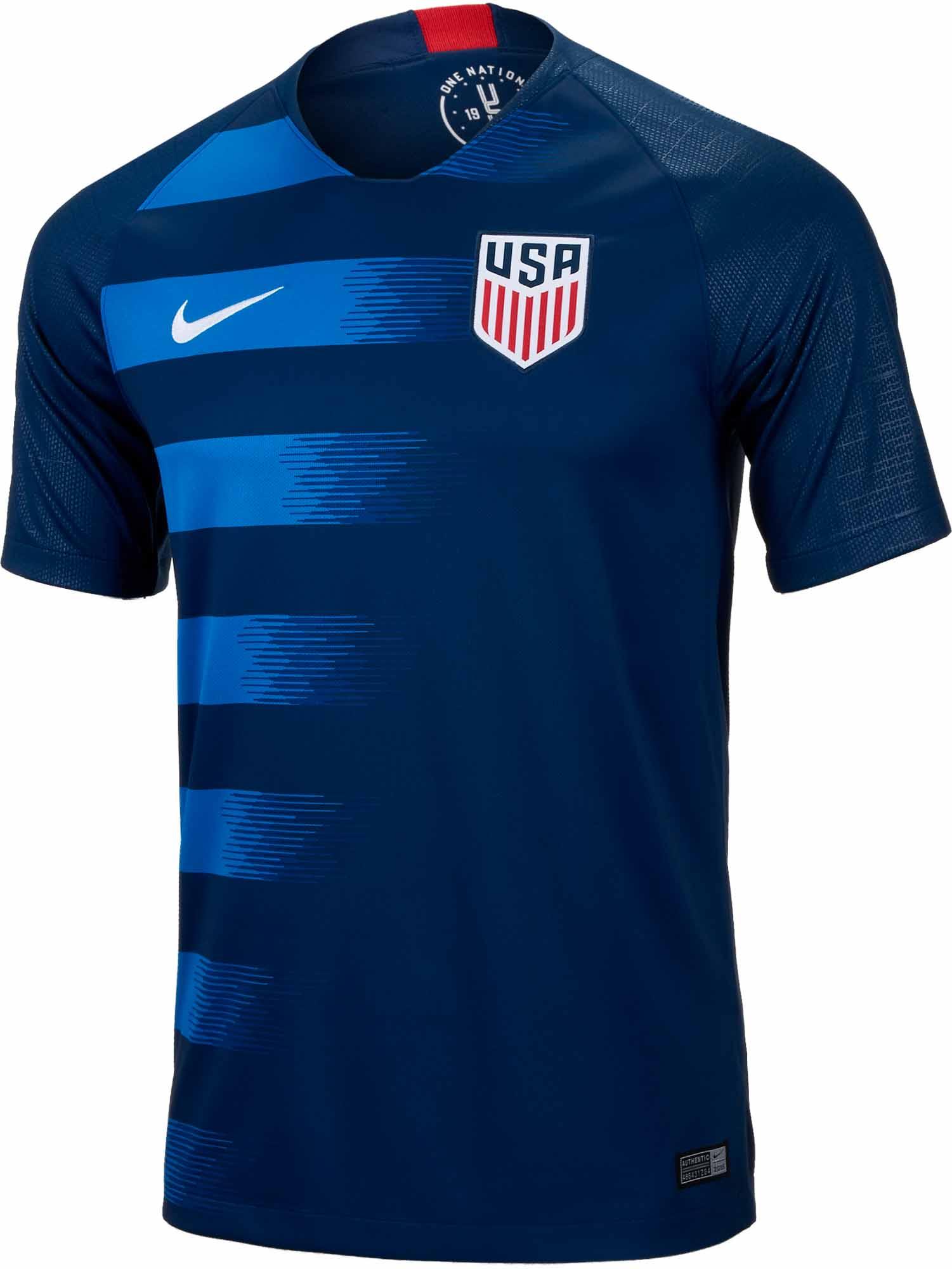 Nike USA Away Jersey 2018-19 - from SoccerPro.com