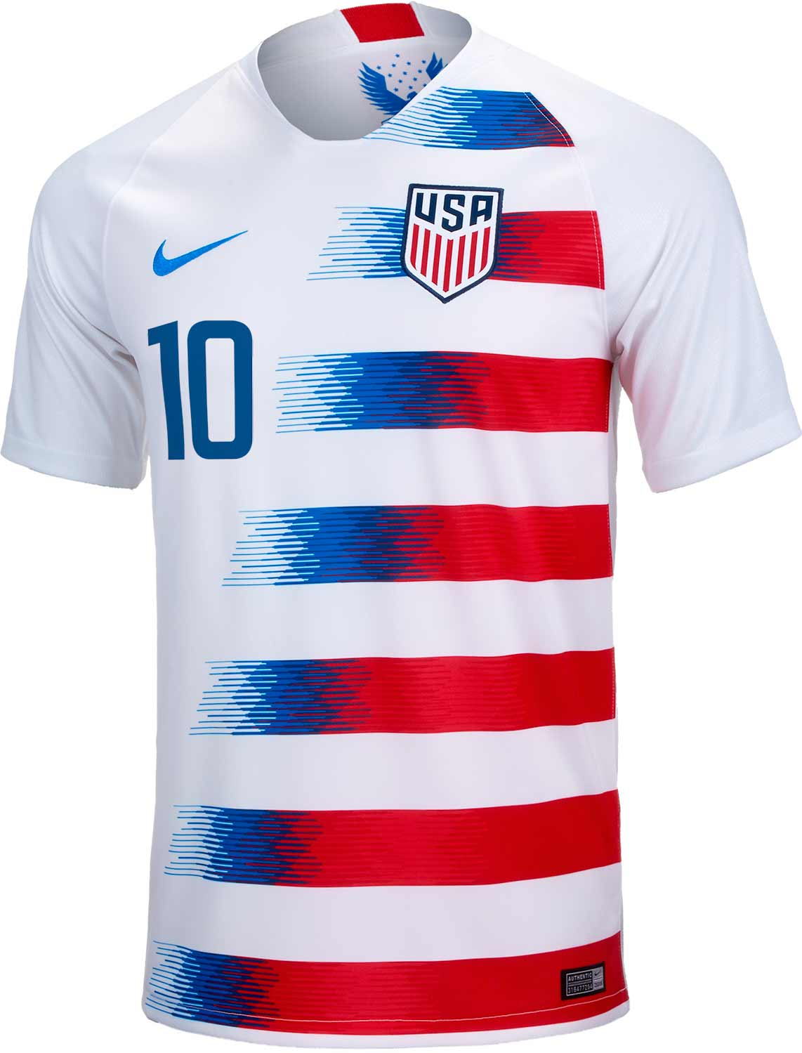 separation shoes 221d1 bb9e9 2018 Nike USMNT USA Christian Pulisic jersey Medium ...