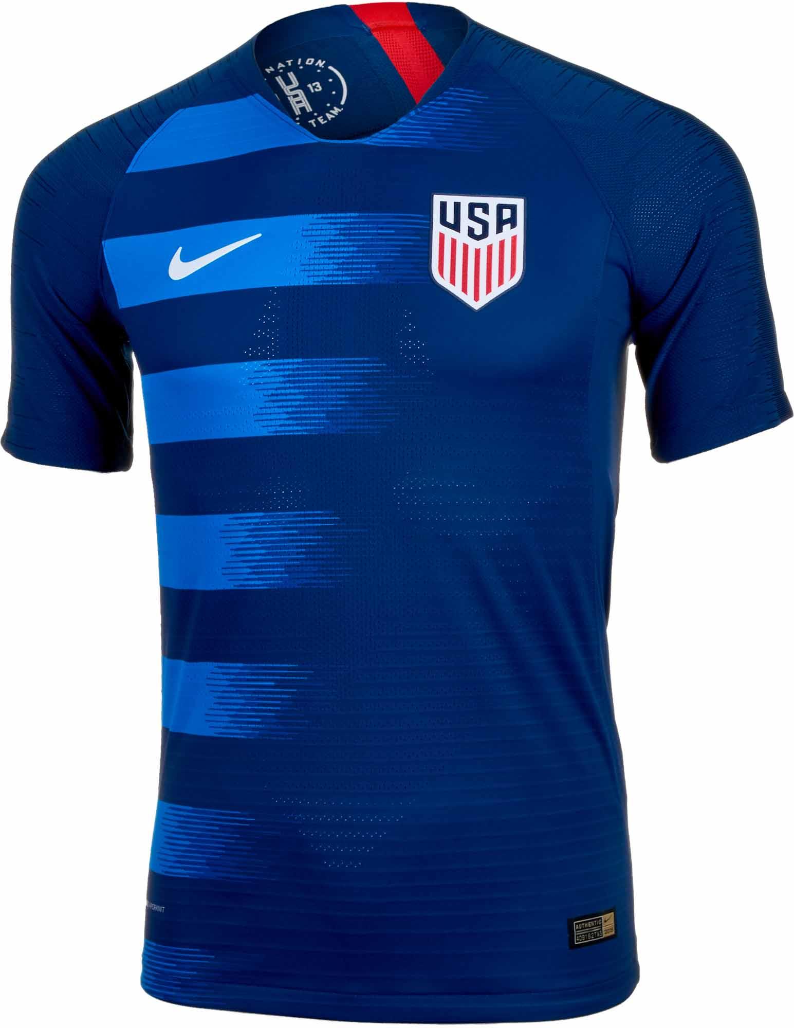 Nike USA Away Match Jersey 2018-19 - SoccerPro.com