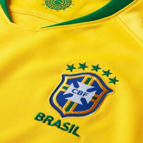 2018/19 Womens Nike Brazil Home Jersey