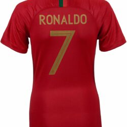 online store 5255a d1af1 2018/19 Womens Nike Cristiano Ronaldo Portugal Home Jersey ...