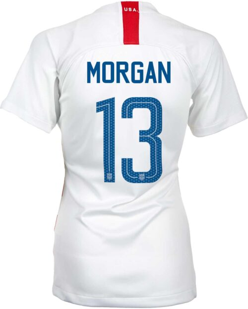 2018/19 Womens Nike Alex Morgan USA Home Jersey