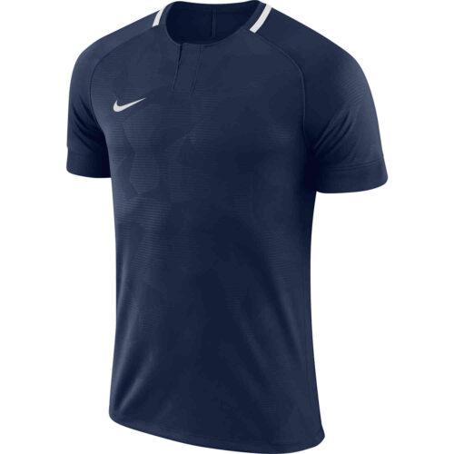 Womens Nike Challenge II Jersey – College Navy