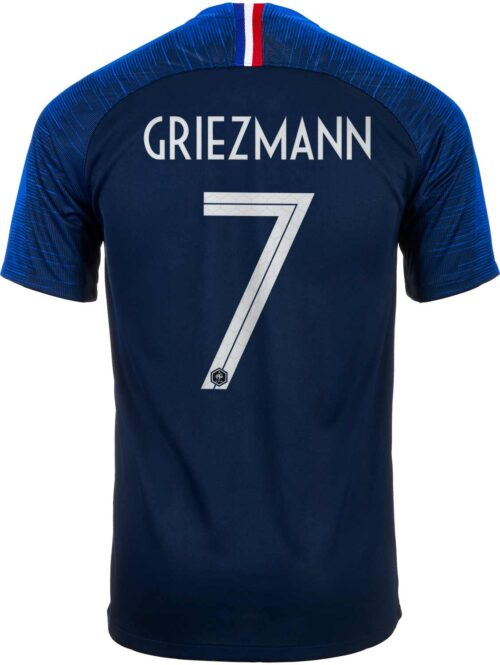 Nike Antoine Griezmann France Home Jersey 2018-19 – Youth
