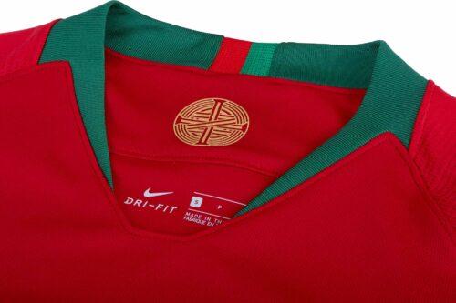 2018/19 Kids Nike Portugal Home Jersey