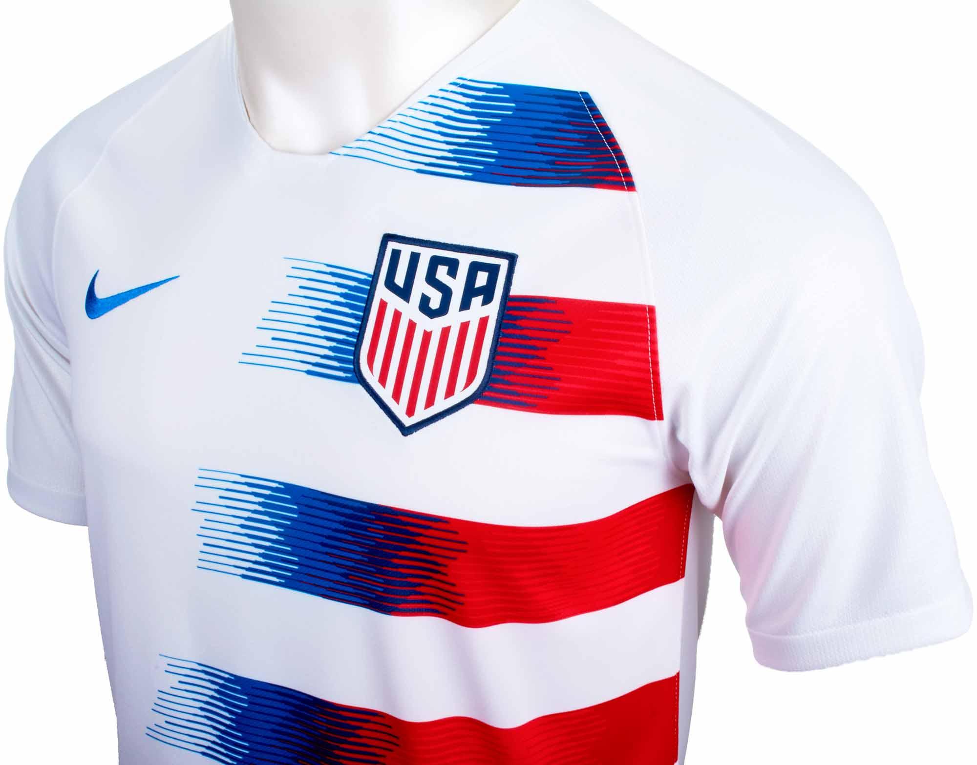 ec660a1cd 2018 19 Kids Nike Alex Morgan USA Home Jersey - SoccerPro