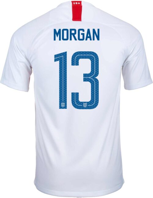 2018/19 Kids Nike Alex Morgan USA Home Jersey