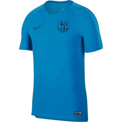 Nike Barcelona Training Top – Equator Blue/Coastal Blue
