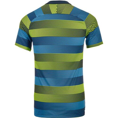 Nike Manchester City Squad Top – Volt/Field Blue/Dark Obsidian