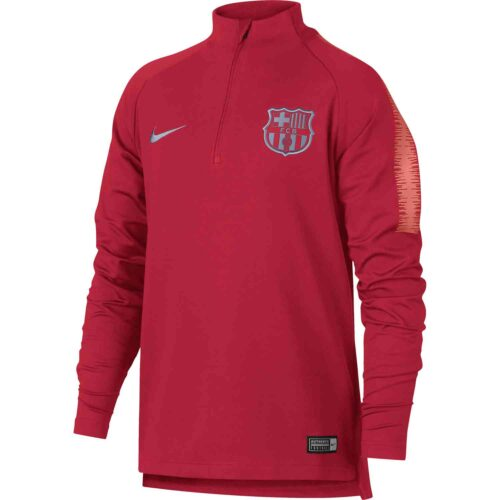 Nike Barcelona Dry Squad Drill Top – Youth – Tropical Pink