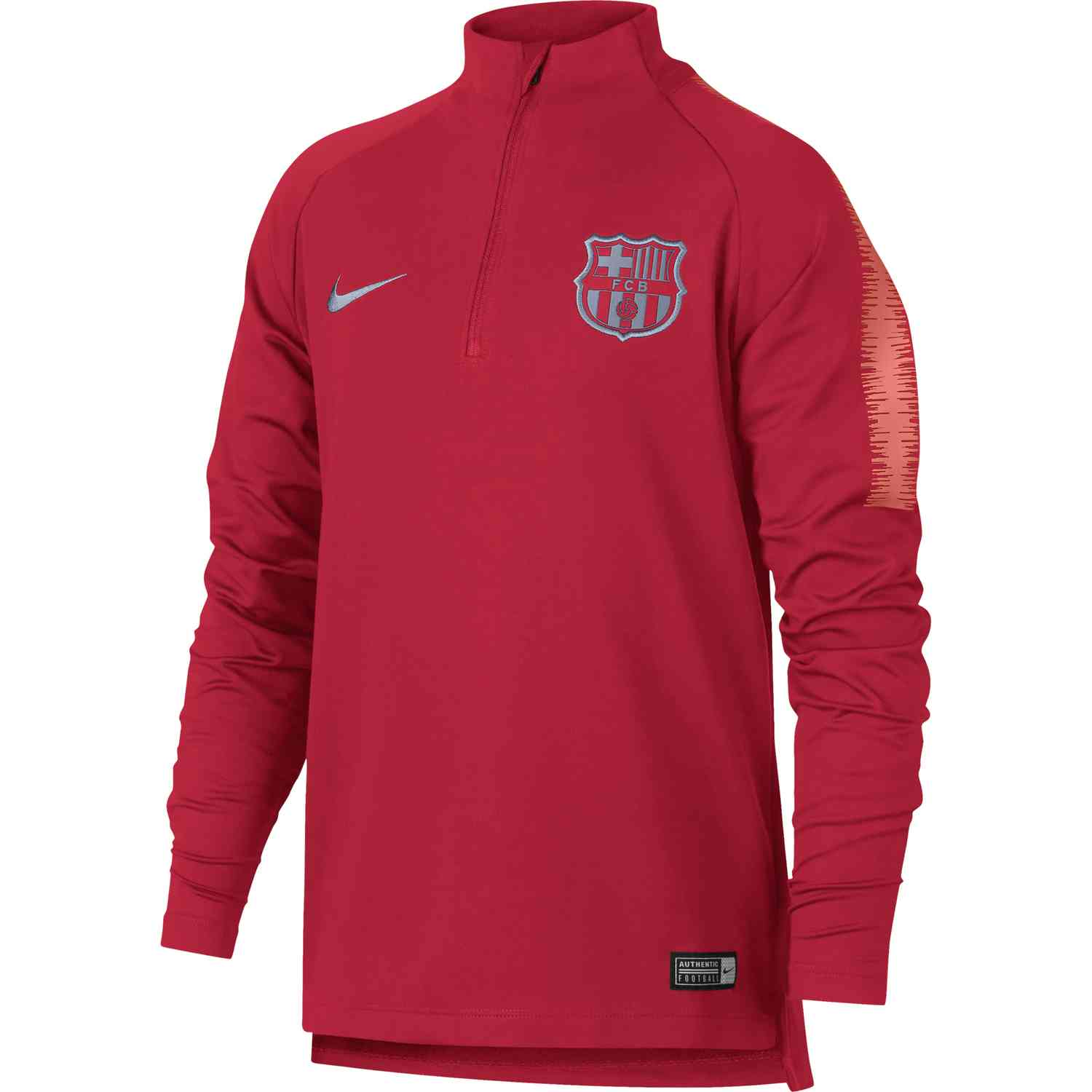 5fd49b064c2 Nike Barcelona Dry Squad Drill Top - Youth - Tropical Pink - SoccerPro
