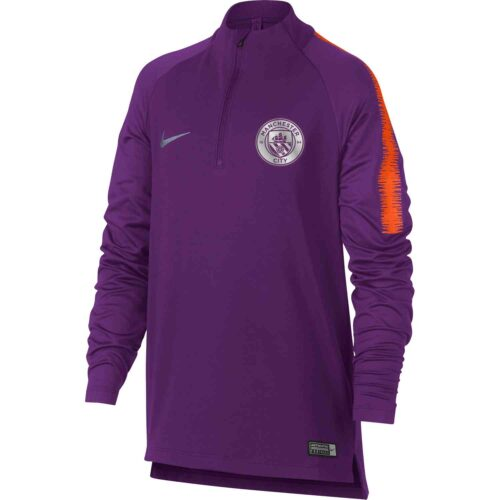Nike Manchester City Dry Squad Drill Top – Youth – Night Purple