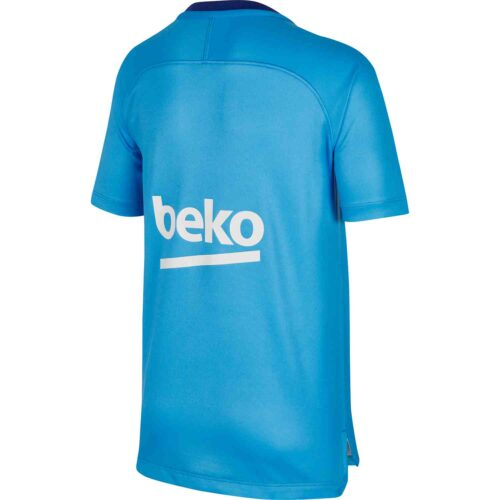 Kids Nike Barcelona Pre-match Top – Equator Blue/Deep Royal Blue
