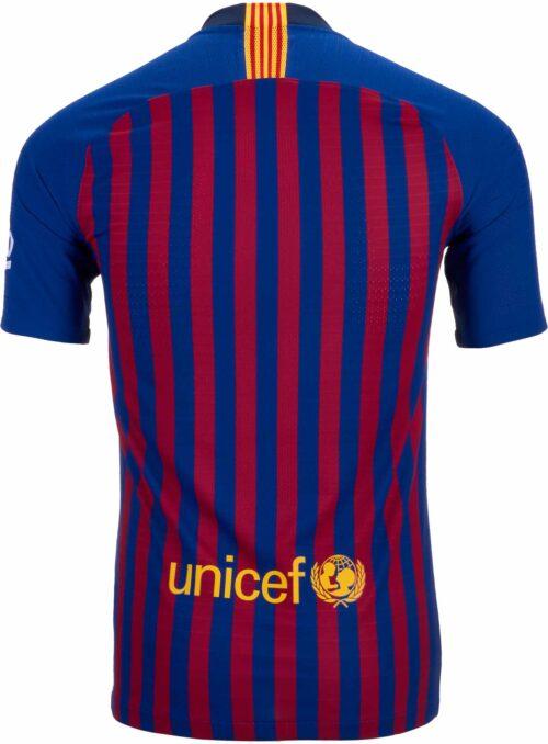 2018/19 Nike Barcelona Home Match Jersey