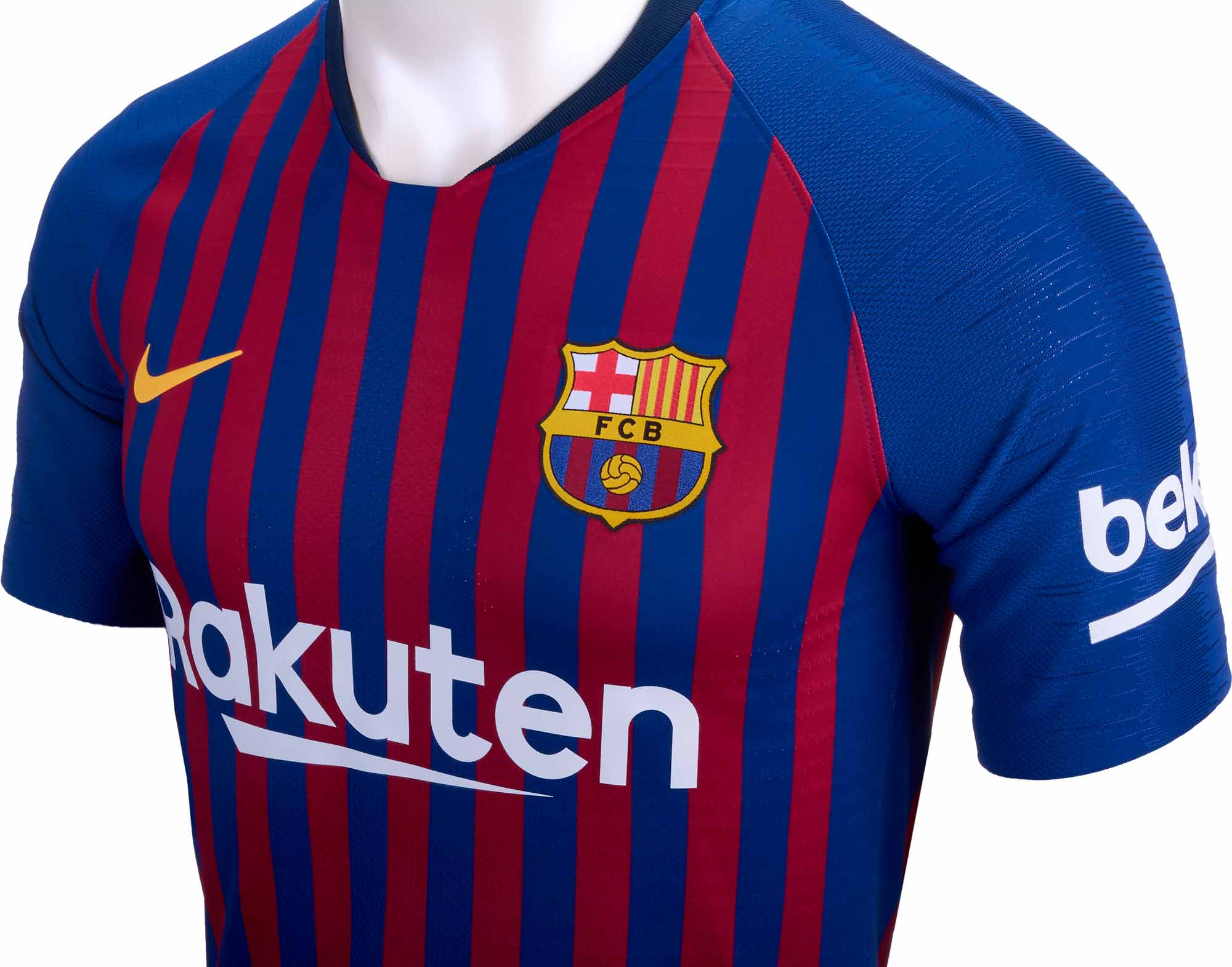 finest selection bd484 925d5 2018/19 Nike Ousmane Dembele Barcelona Home Match Jersey ...