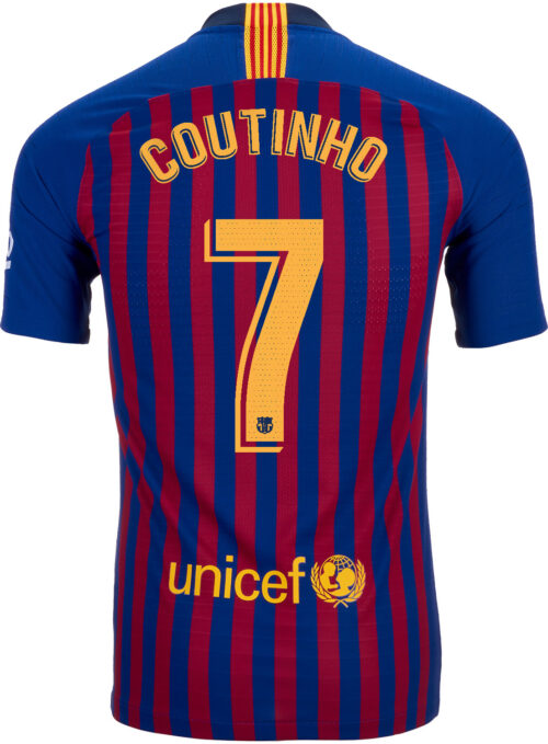 f6dab3428d1 2018 19 Nike Philippe Coutinho Barcelona Home Match Jersey