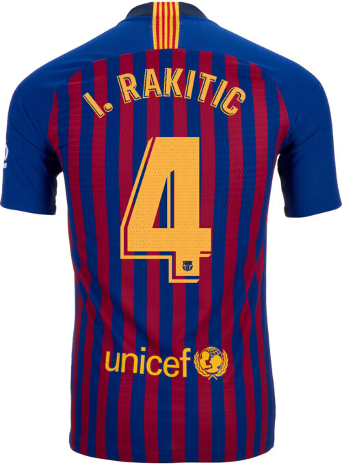 2018/19 Nike Ivan Rakitic Barcelona Home Match Jersey