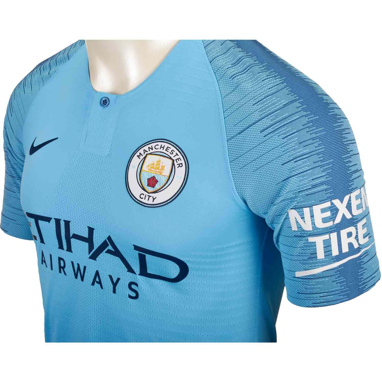 brand new c3252 aa859 2018/19 Nike Kevin De Bruyne Manchester City Home Jersey ...