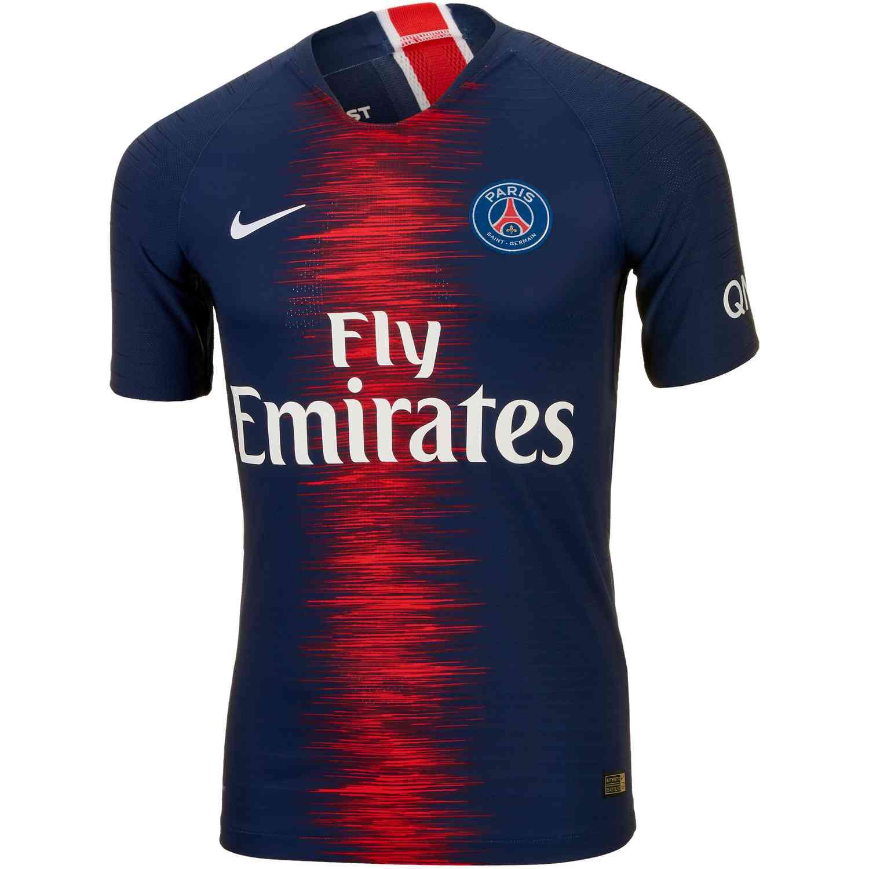 Nike PSG Home Match Jersey 2018-19 - SoccerPro 6e2773d2e