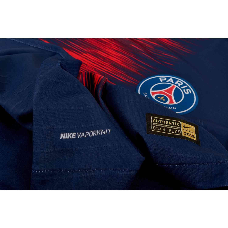 b9fbd597f3e Nike PSG Home Match Jersey - Midnight Navy White - SoccerPro