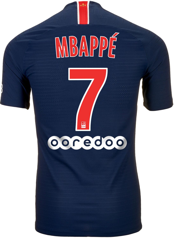 76c63facf74 Nike Kylian Mbappe PSG Home Match Jersey 2018-19 - SoccerPro