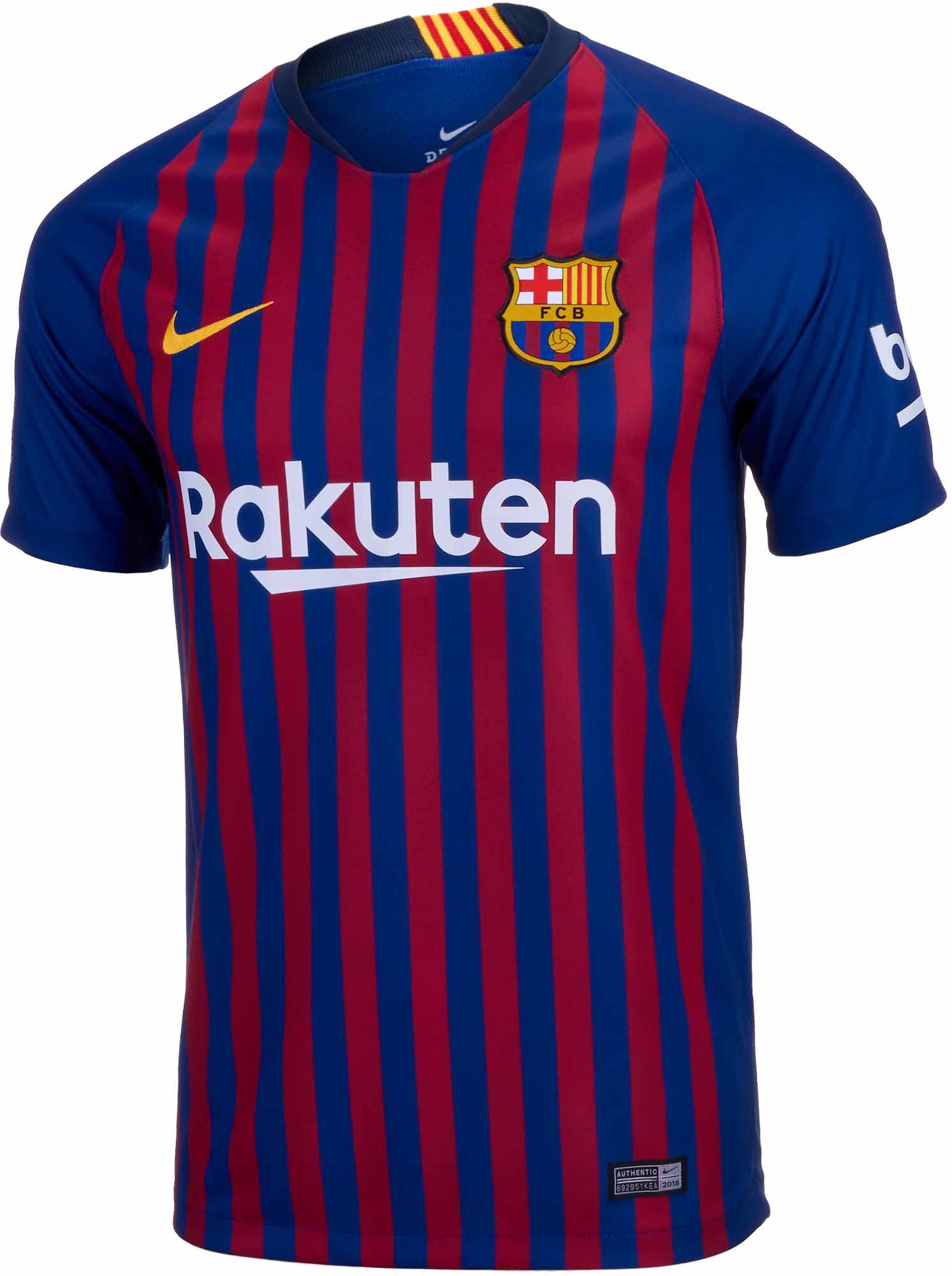 c660ec1ada8 Nike Barcelona Home Jersey 2018-19 - SoccerPro