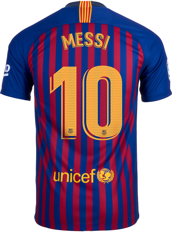 5318a06f0ac Nike Lionel Messi Barcelona Home Jersey 2018-19 - SoccerPro