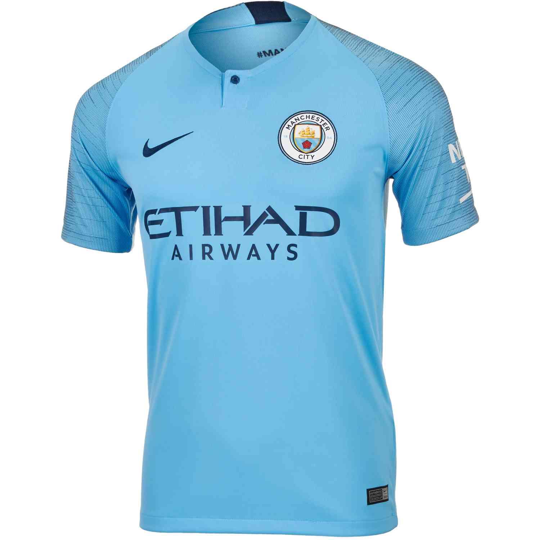 97b676545e5 2018/19 Nike Manchester City Home Jersey - SoccerPro